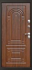 Дверь Дверной континент Гранд Графит  Орех