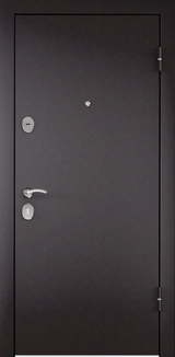 Дверь Torex Starter Steel Букле шоколад  Букле шоколад