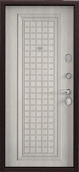 Дверь Torex Starter Букле шоколад  Ларче бьянко СК3