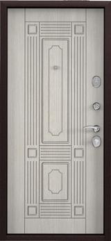 Дверь Torex Starter Букле шоколад  Ларче бьянко СК4