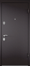Дверь Torex Starter Букле шоколад  Орех норд СК5-S