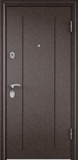 Дверь Torex Delta-M 10 Античная медь RGSO Перламутр белый