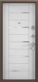 Дверь Torex Delta-M 10 Античная медь RGSO Вельвет белый DPC-1W
