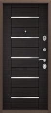 Дверь Torex Delta-M 10, 11, 12 Античная медь RGSO Венге поперечный DPC-1W