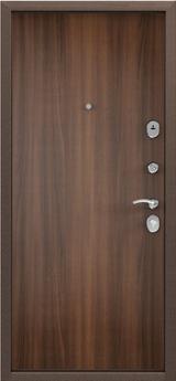 Дверь Torex Delta-M 10 Античная медь RGSO Орех лесной