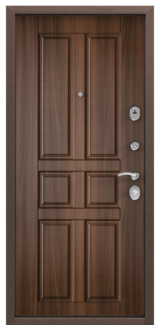 Дверь Torex Delta-M 10 Античная медь RGSO Орех лесной D12