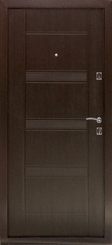 Дверь Дверной континент Комфорт Античная медь  Венге