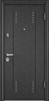 Дверь Torex Super Omega-10 Черный шелк RP3 Белый RS4