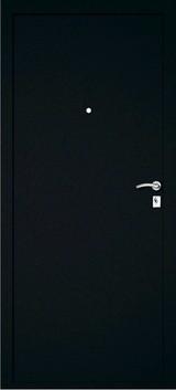 Дверь Дверной континент Багратион Черный шелк  Черный шелк