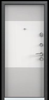 Дверь Torex Super Omega-10 Черный шелк VDM-2N Белый RS3