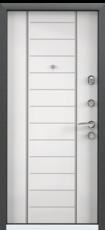 Дверь Torex Super Omega-10 Черный шелк VDM-2N Белый RS9