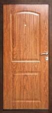 Дверь Дверной континент Классик Античная медь  Орех тёмный