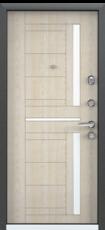 Дверь Torex Super Omega-10 Черный шелк RP2 Дуб бежевый RS2