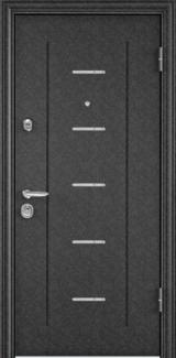 Дверь Torex Super Omega-10 Черный шелк RP4 Дуб бежевый RS9