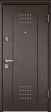 Дверь Torex Super Omega-10 Античная медь VDM-2N Дуб бежевый RS1