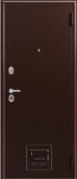 Дверь Зевс Z-6 Античная медь  Орех