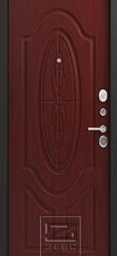 Дверь Зевс Z-7 Черный шелк  Махагон