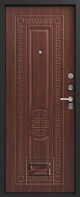 Дверь Зевс Z-5 Черный шелк Греция Орех южный