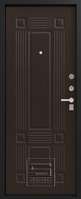 Дверь Зевс Z-5 Черный шелк Италия Венге шелк