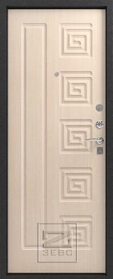 Дверь Зевс Z-4 Серебро  Млечный дуб
