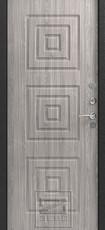 Дверь Зевс Z-4 Серебро  Серое дерево
