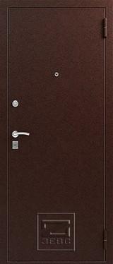 Дверь Зевс Z-4 Медь  Итальянский орех