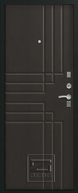 Дверь Зевс Z-2 Черный шелк  Венге шелк