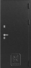 Дверь Легион Т-2 Черный муар  Дуб полярный