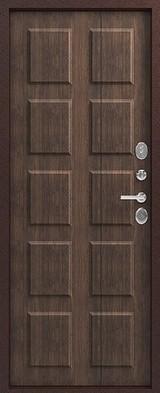 Дверь Легион Т-4 Античная медь  Тиковое дерево