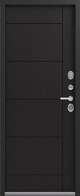 Дверь Легион L-2 (скрытые петли) Черный шелк  Венге шоколад