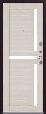 Дверь Легион L-3 Черный муар  Лиственница светлая