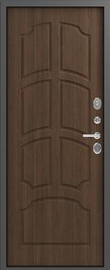 Дверь Легион L-5 Серый шелк  Миндаль