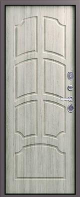 Дверь Легион L-5 Серый шелк  Дуб полярный