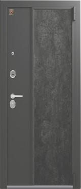 Дверь Легион L-7 Серый шелк  Венге тобакко