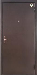 Дверь Бульдорс 10 Античная медь  Венге