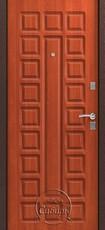 Дверь Сибирь S-2 Античная медь  Итальянский орех