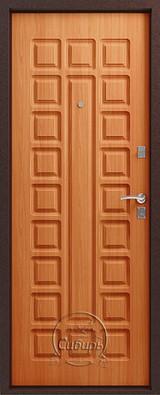 Дверь Сибирь S-2 Античная медь  Миланский орех