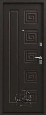 Дверь Сибирь S-2 Серебро  Венге