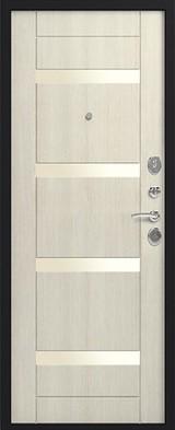 Дверь Сибирь S-5 Черный шелк  Каньон