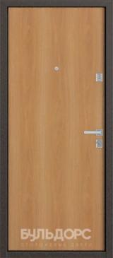 Дверь Бульдорс 12 Античная медь  Миланский орех