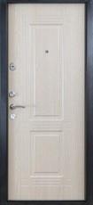 Дверь Форт Б-7Ф Античное серебро Дуб беленый