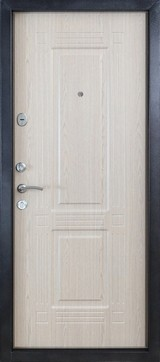 Дверь Форт Б-6Ф, 7Ф, 11Ф Античное серебро  Дуб беленый