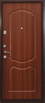 Дверь Форт Б-6Ф, 7Ф, 11Ф Античная медь  Дуб рустикальный