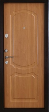 Дверь Форт Б-6Ф, 7Ф, 11Ф Античная медь  Миланский орех