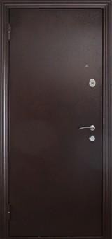 Дверь Форт Б-08Z, Б-14Z (с зеркалом) Античная медь  Венге