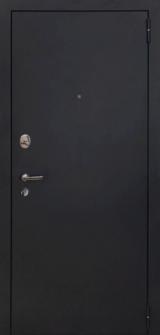 Дверь Форт Волга 04, 05 Царга Черный муар  Белый ясень