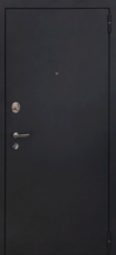 Дверь Форт Волга 06 Царга Черный муар Белый ясень
