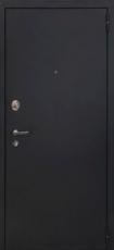 Дверь Форт Волга 07 Царга Черный муар Белый ясень