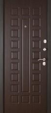 Дверь Форт 31 Черный муар Волна Венге Шоколад