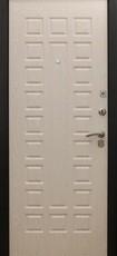 Дверь Форт 32 Черный муар Волна Беленый дуб Шоколад